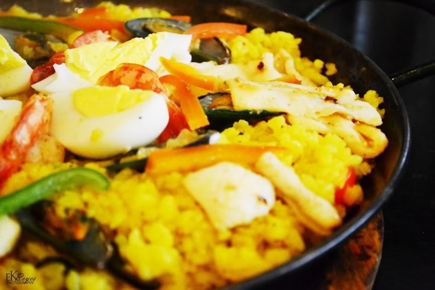 Paella de Frutos