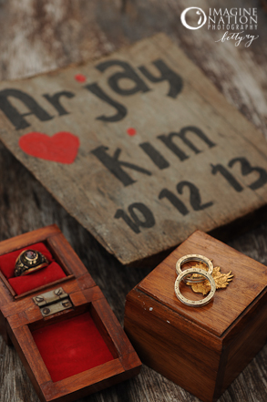 Wedding Rings and PNPA Mini Ring