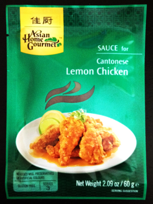 Asian Home Gourmet Lemon Chicken Sauce
