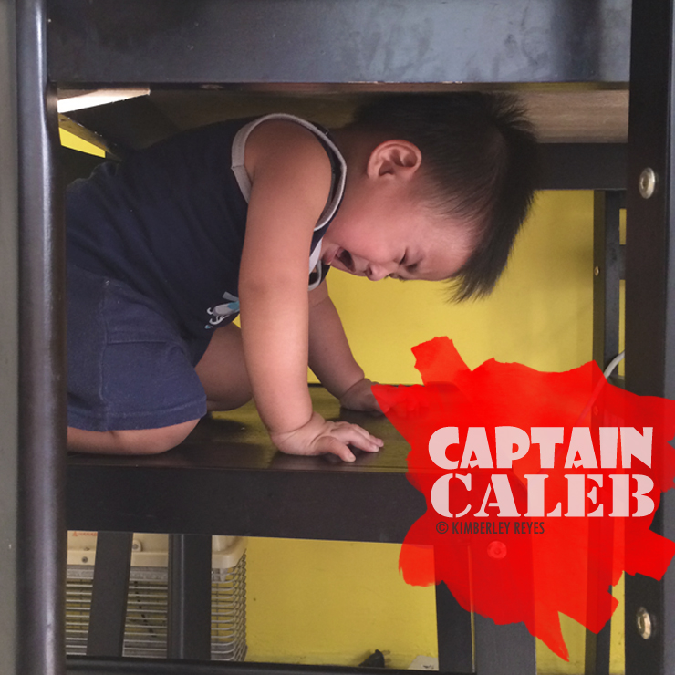 Pretend play with Captain Caleb