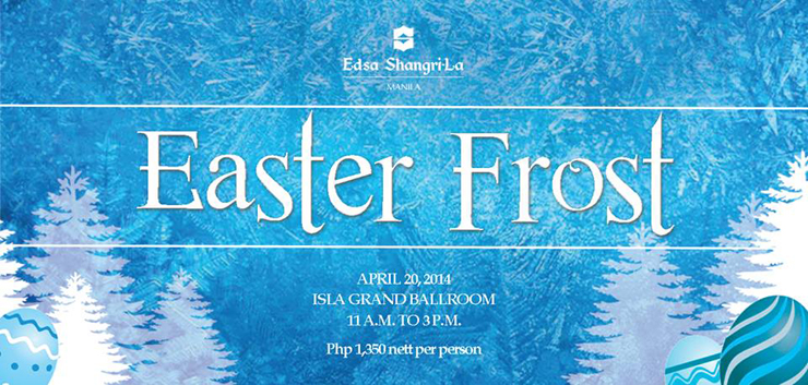 EDSA Shangri-la 2014 Easter Egg Hunt