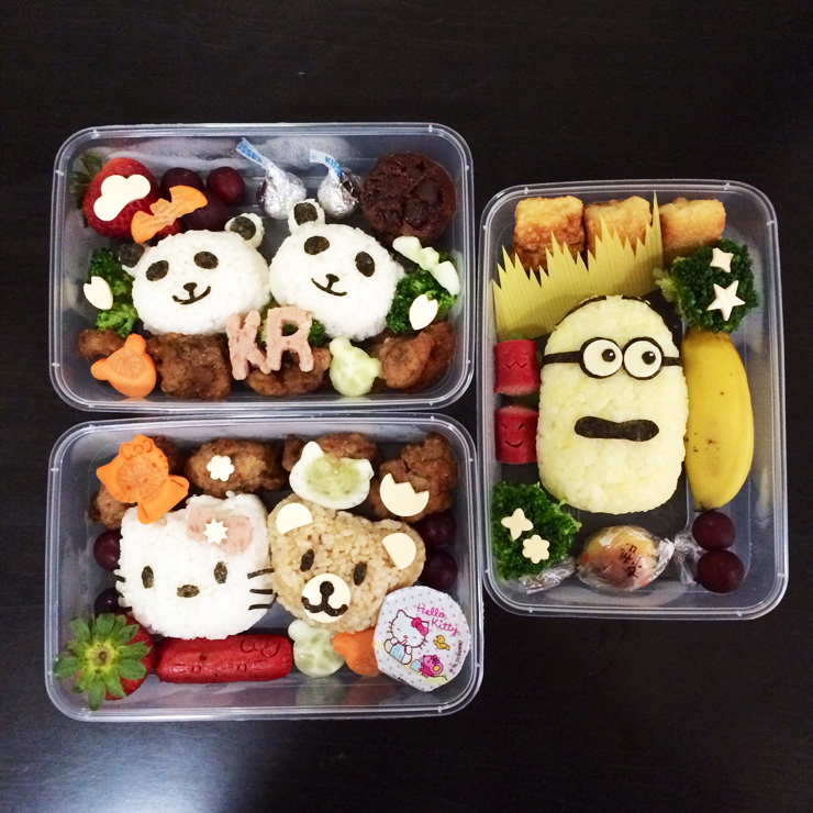 Celebrate Your Childs Birthday with oh Bentos Yummy Healthy and