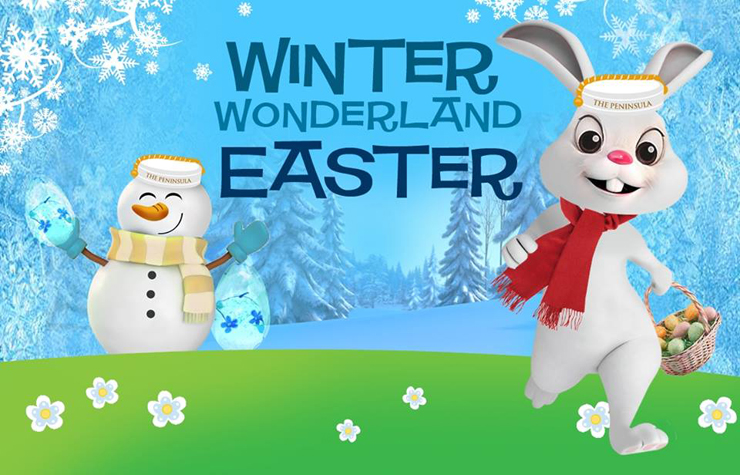 The Peninsula Manila Winter Wonderland Easter