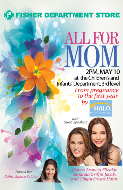 All for Mom Event Poster