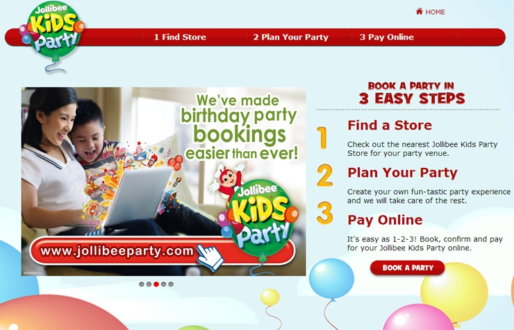 jollibee birthday party
