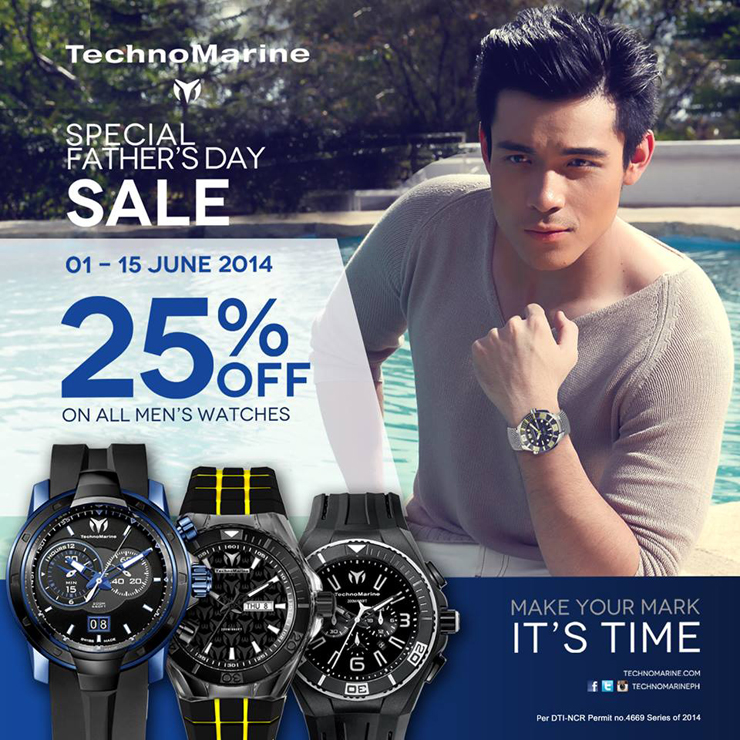 Xian Lim for TechnoMarine