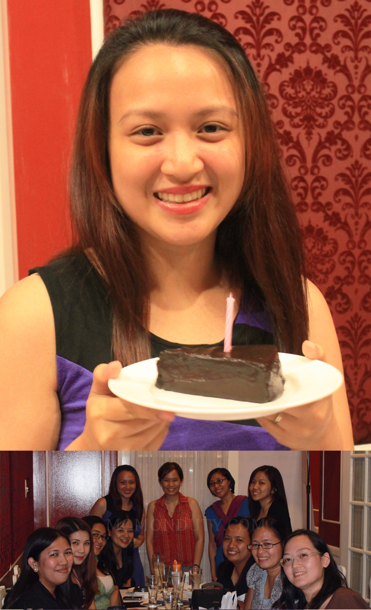 Birthday celebration with Lotte Xylitol Moms