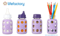 Lifefactory: Baby Bottles That Grow With Your Family
