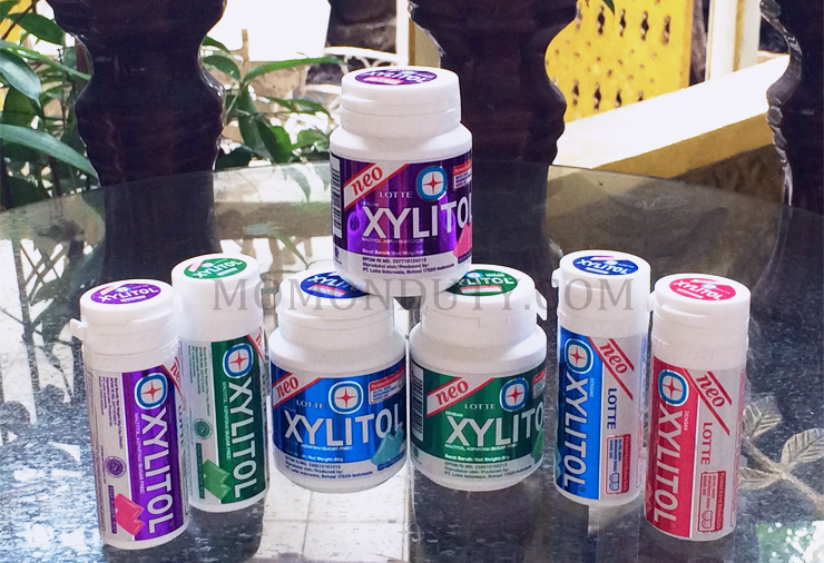 Lotte Xylitol Variants