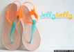 Rain or Shine, Stay In Style With Your Jelly Nelly Sandals