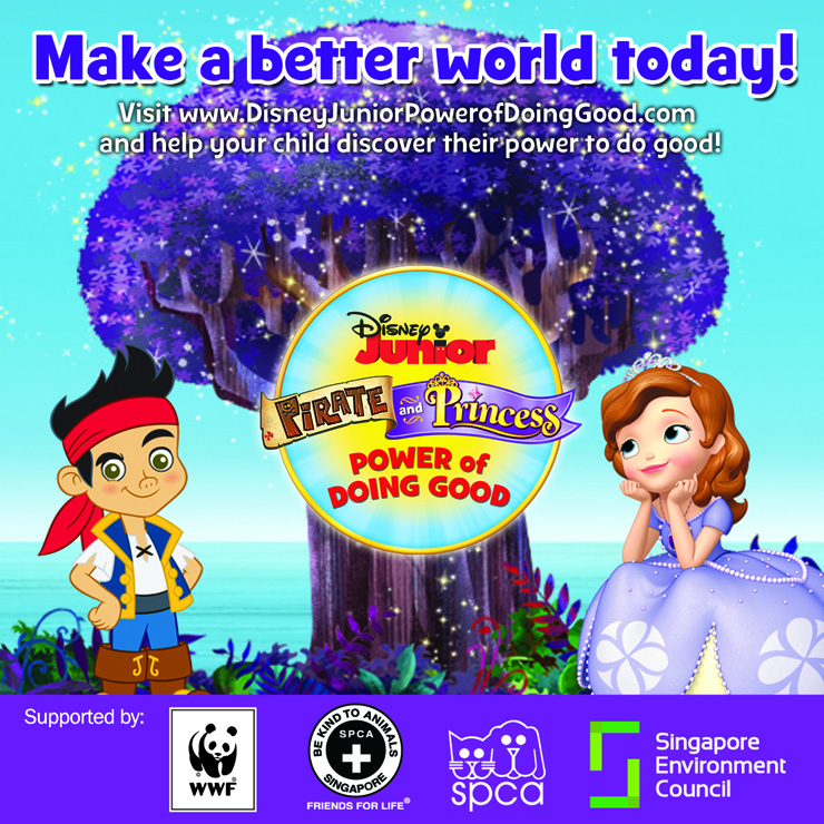 Disney Junior Launches the 'Pirate and Princess: Power of Doing Good' Website