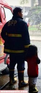 Fireman's family