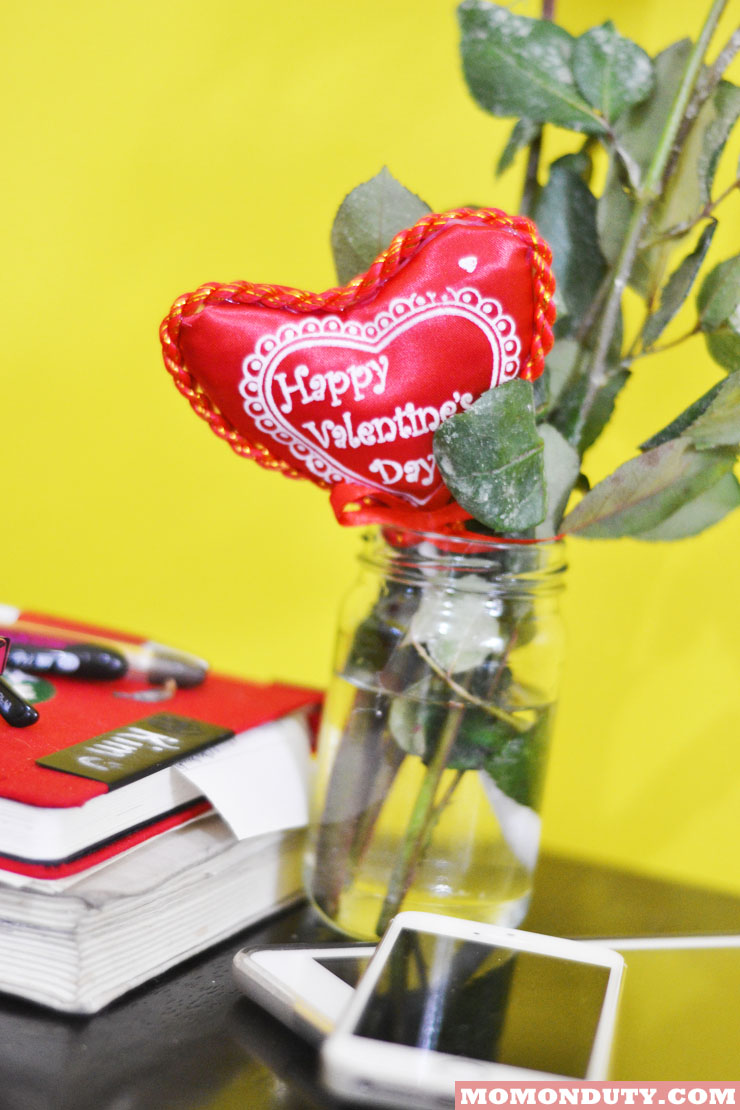 Sweet Surprises, Yummy Food, and Funny Stories: Our Valentine's Day 2015 Celebration