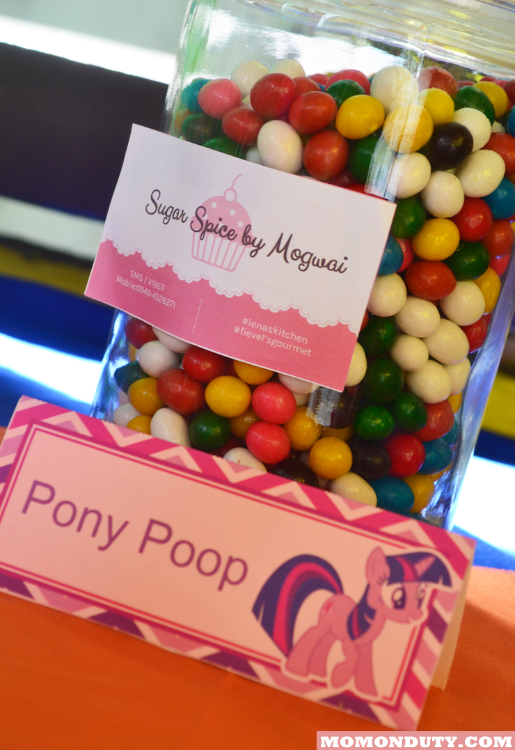 my little pony sweets buffet