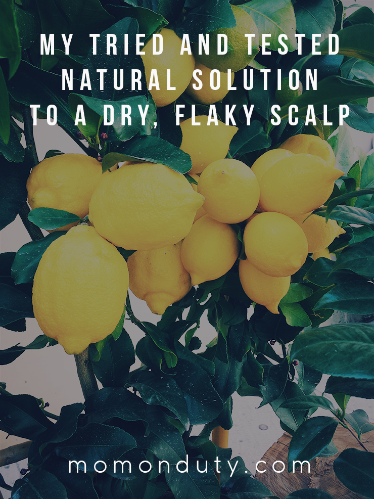 My Tried and Tested Natural Solution to a Flake-free Scalp