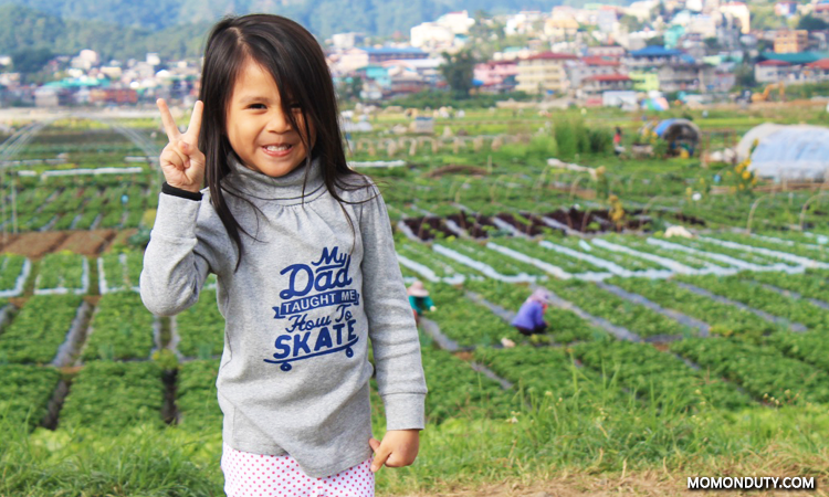 The Princess posing in La Trinidad
