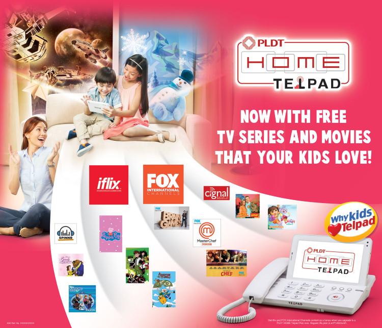 The Minis' Fun Fridays + The  New PLDT HOME Telpad Kiddie Bundle