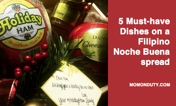 What are you serving for Noche Buena this year?