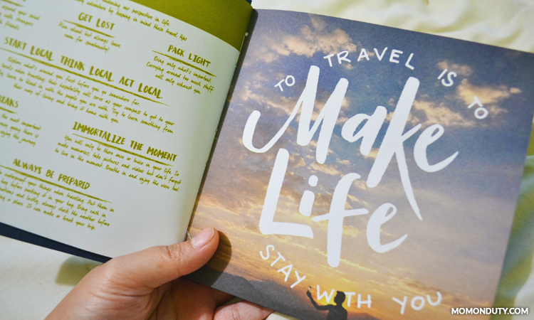 The Camper Planner comes with tons of travel photos.