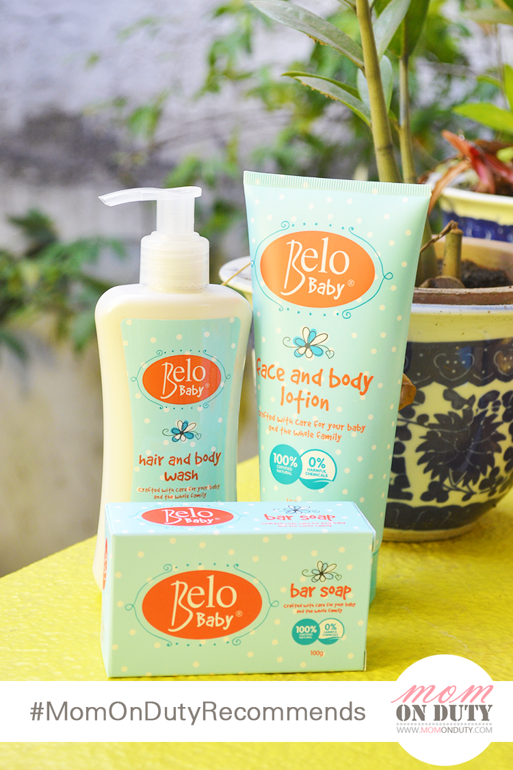 Belo Baby products are natural, gentle and safe for babies.