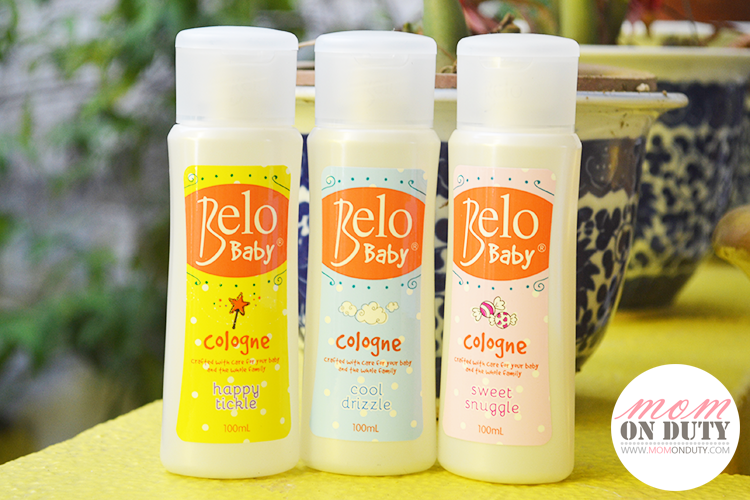 Belo Baby Colognes will keep your baby smelling fresh all day long!