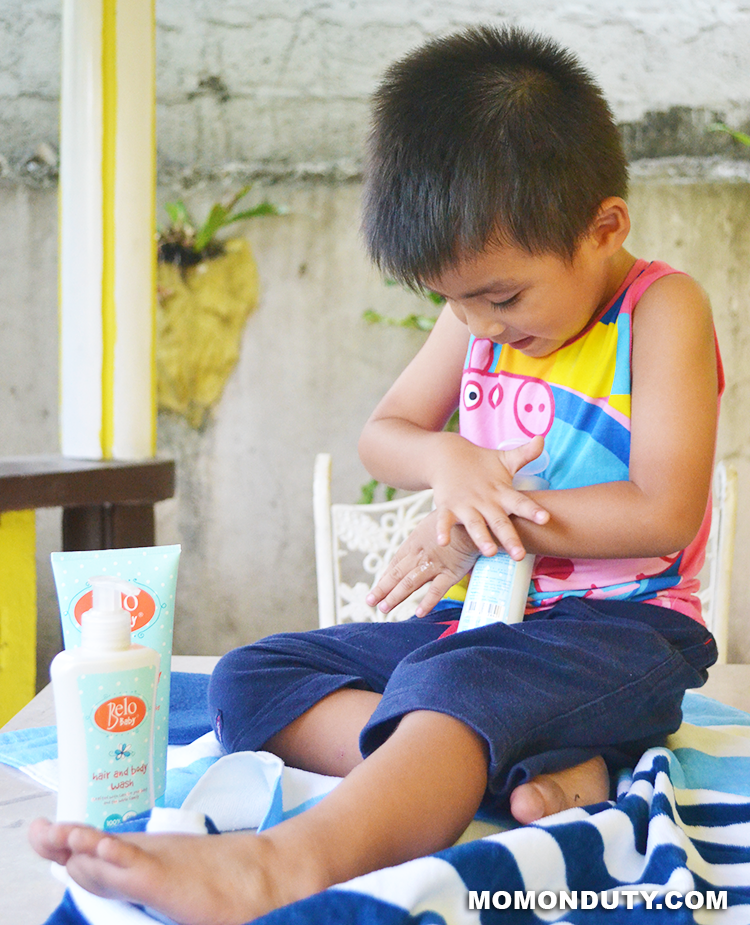 Belo Baby products are formulated especially for baby's skin. | www.momonduty.com