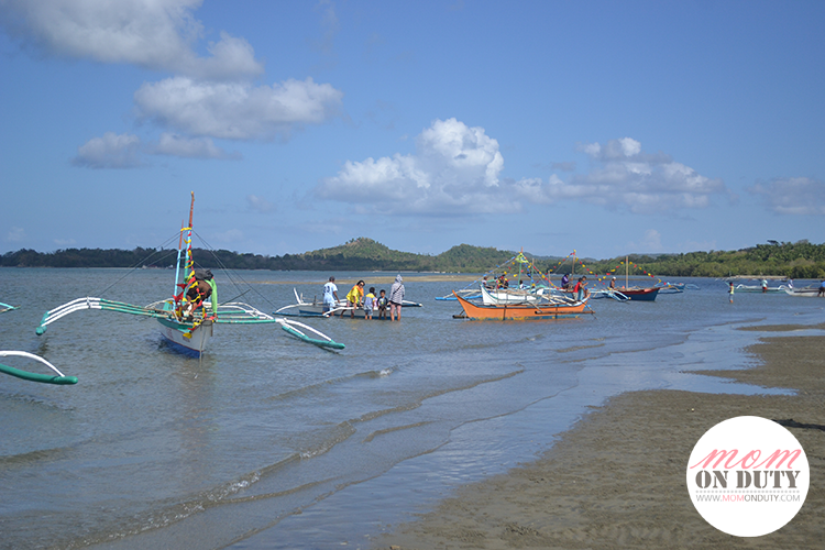 Boat race in Looc, Romblon