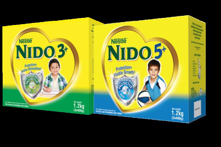 NIDO 3+ and NIDO 5+