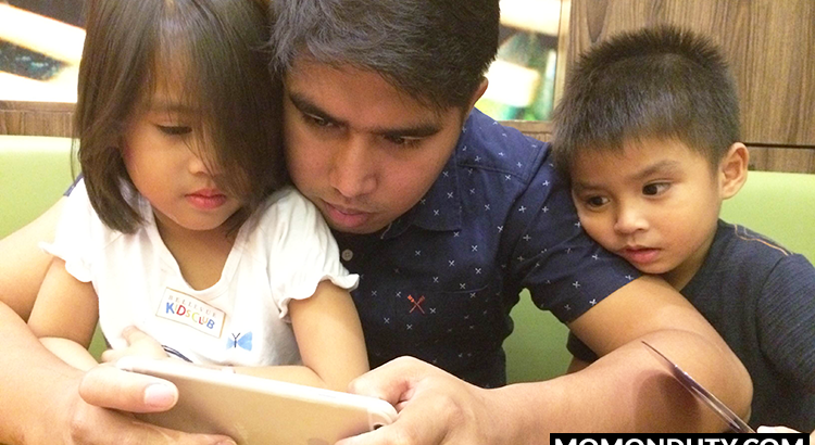 Mom Blog Philippines - Mom On Duty - Dad and Kids