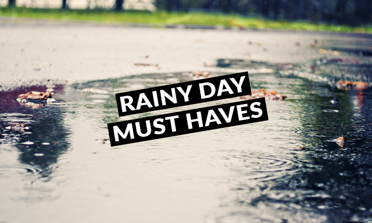 5 Rainy Weather Must Haves for Stress-free School Days