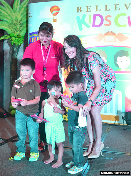 Faber Castell giveaway at the Bellevue Kids Club Launch