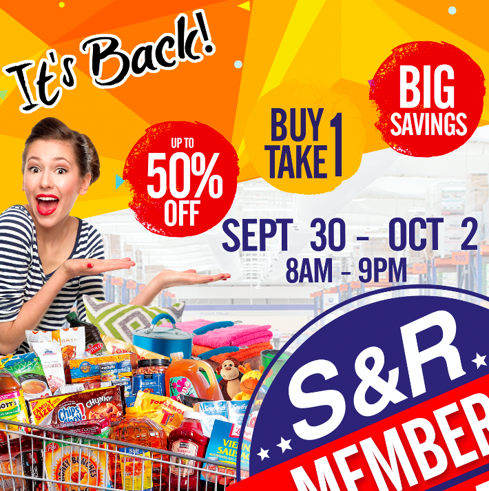 A big sale is about to happen in S&R