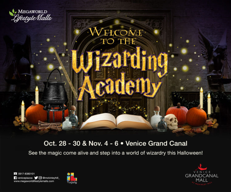 The Venice Grand Canal is hosting a magical Halloween event for kids and kids at heart with The Wizarding Academy.