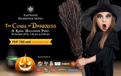 Eastwood Richmonde Hotel is again hosting a spooktacular Halloween event for kids. Come join and enjoy the booths and, of course, The House of Darkness!