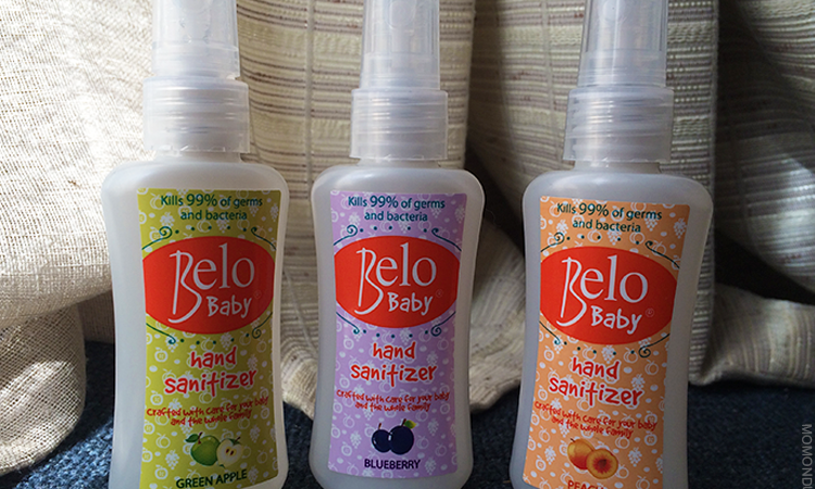 The new Belo Baby Hand Sanitizers are crafted with care for the most delicate skin.