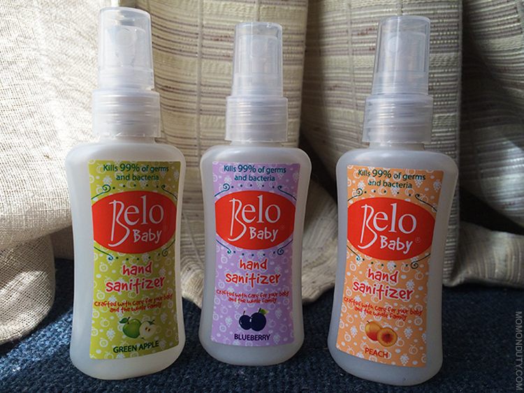 Belo Baby Hand Sanitizers: Helping Moms Protect Their Children from Germs
