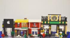 HSANHE Mini Street Blocks Collection