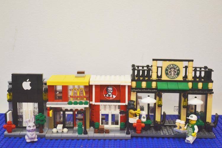 Hsanhe Mini Street No. 6045: Apple Store