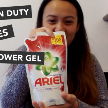 Ariel Power Gel is a powerful weapon against stains. See how it works!