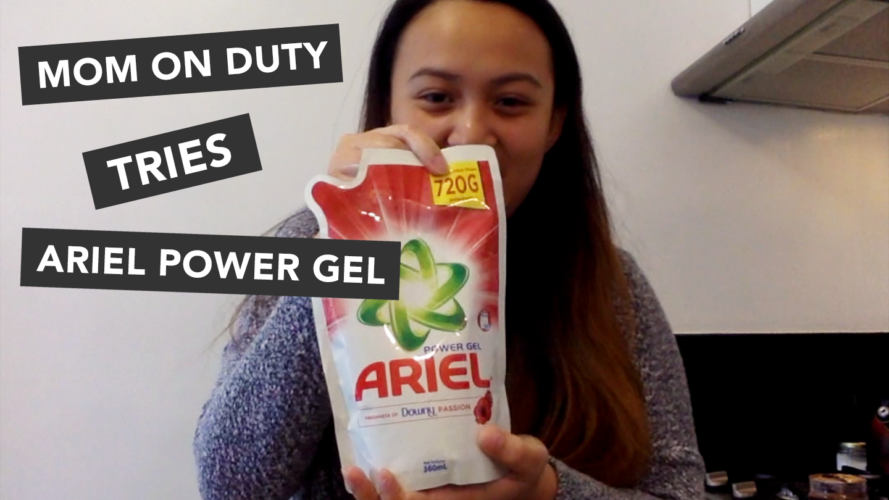 Are stains stressing you out? Ariel Power Gel is to the rescue!