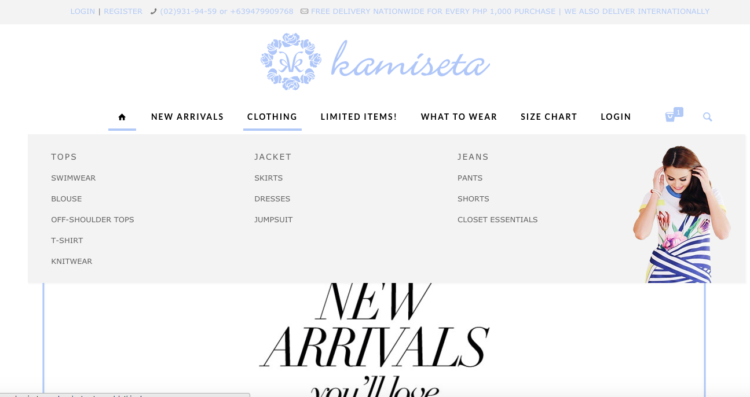 Shop for the trendiest clothes from Kamiseta Online! http://momonduty.com