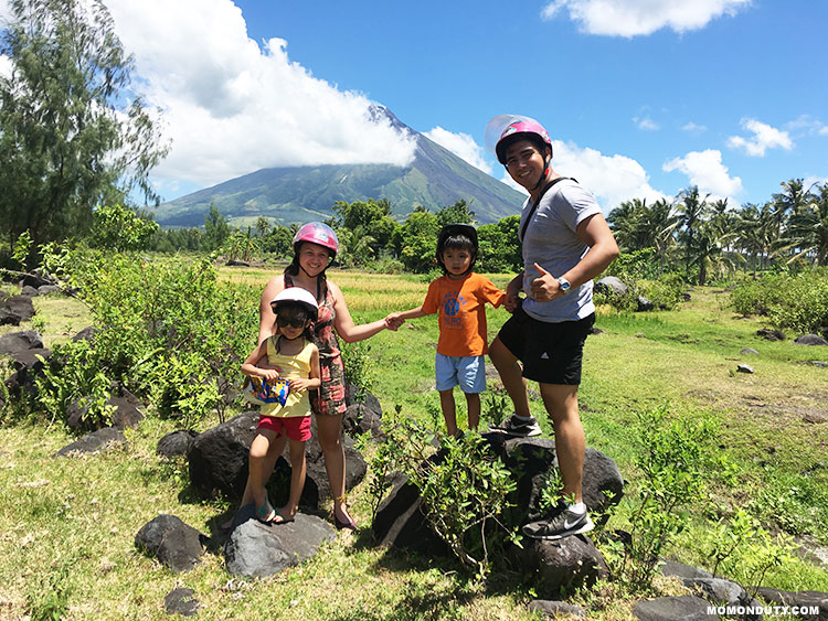 This Bicol road trip itinerary and budget includes activities such as an ATV ride around Mayon Volcano. www.momonduty.com