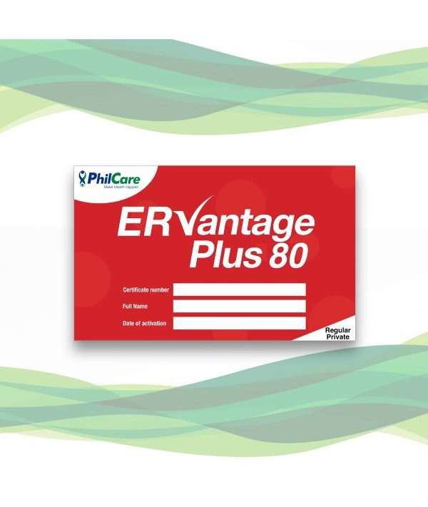 Affordable healthcare is just at your fingertips with PhilCare ER Vantage Plus