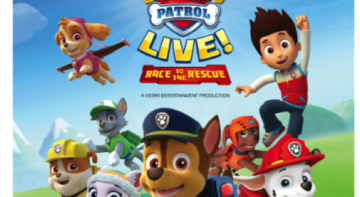 Paw Patrol Live! at Resorts World Manila. www.momonduty.com