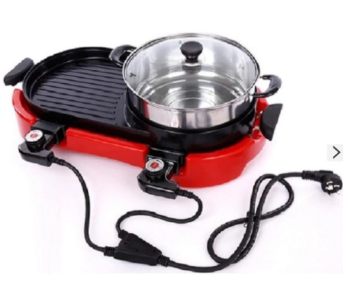 Lazada J&J Multi-function Electric Hotplate Grill