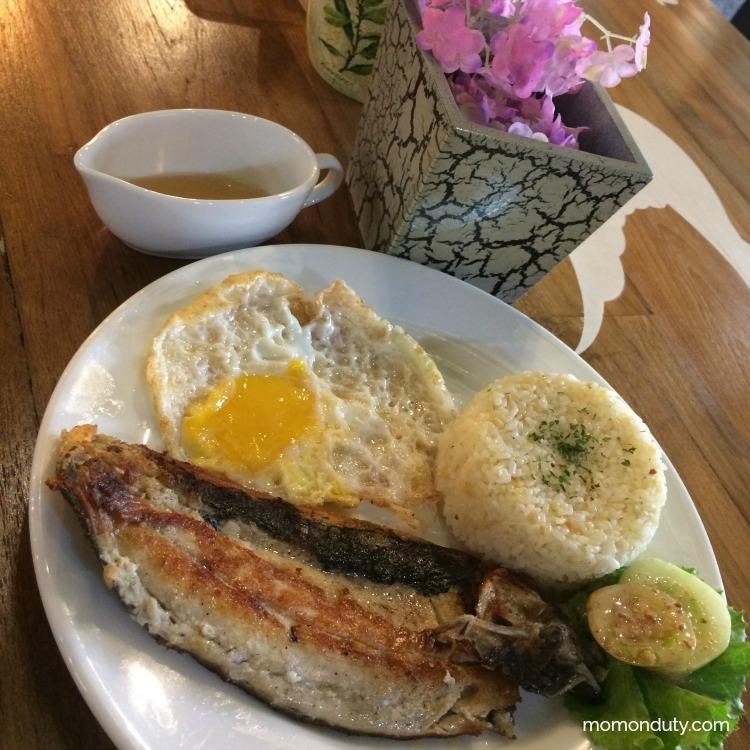 Coffee Project Antipolo - Bangus Breakfast | www.momonduty.com
