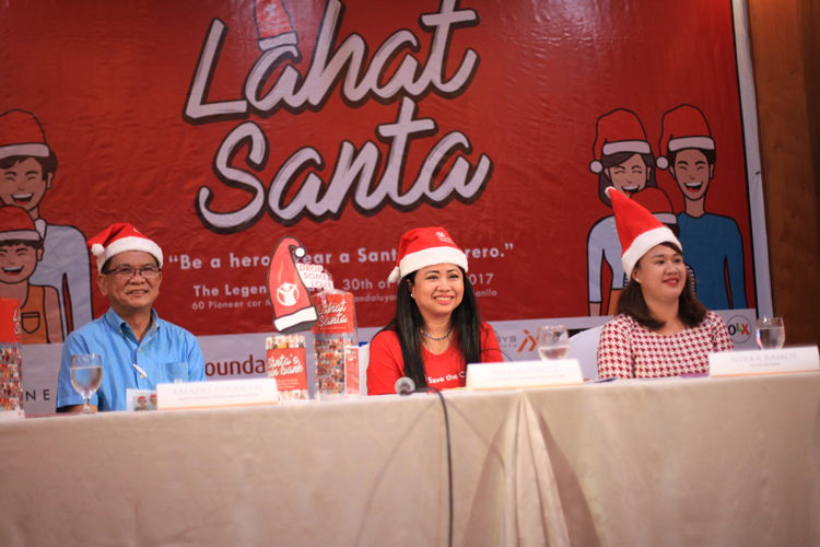 Be a hero this Christmas: Join the #LahatSanta campaign