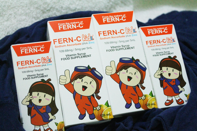 FERN-C kidz is my partner in keeping my kids healthy. | www.momonduty.com
