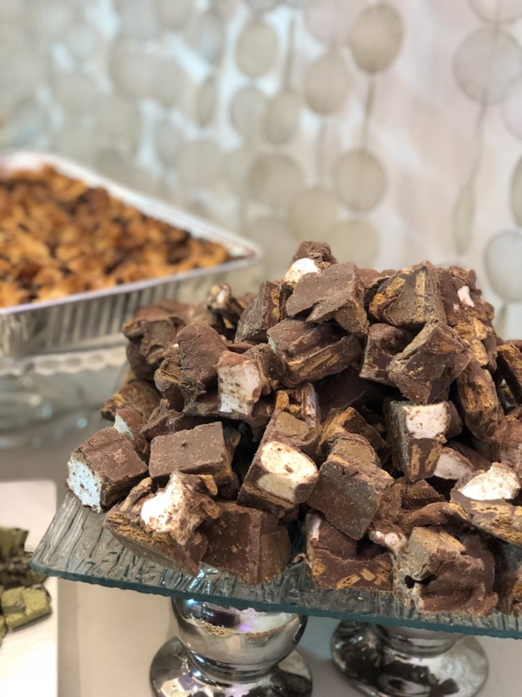 Chocolate-coated marshmallows at Cravings