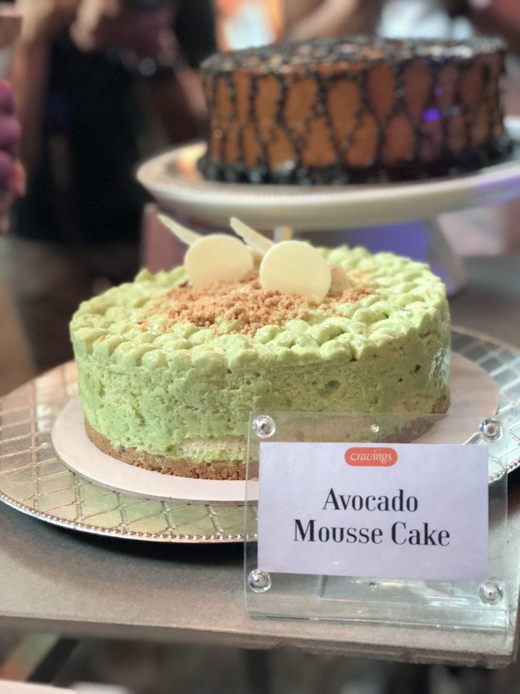 Avocado Mousse Cake